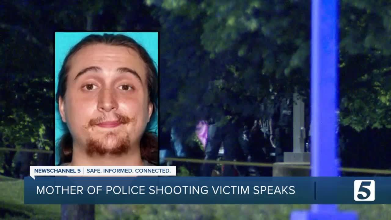 Mother of slain man 'heartbroken' over son who 'was not in his right mind' during standoff