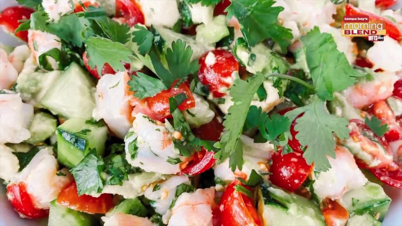 Shrimp Ceviche Recipe with Erika Schlick | Morning Blend