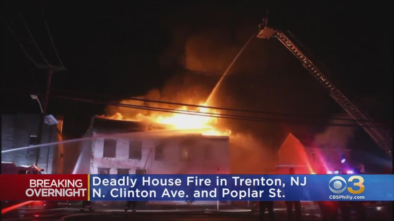 1 Dead After Intense Flames Rip Through Trenton Home