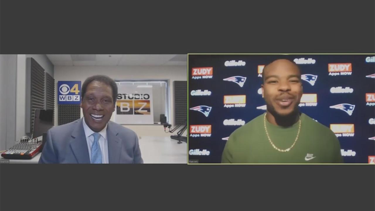 Patriots Running Back Damien Harris On His NFL Draft Experience