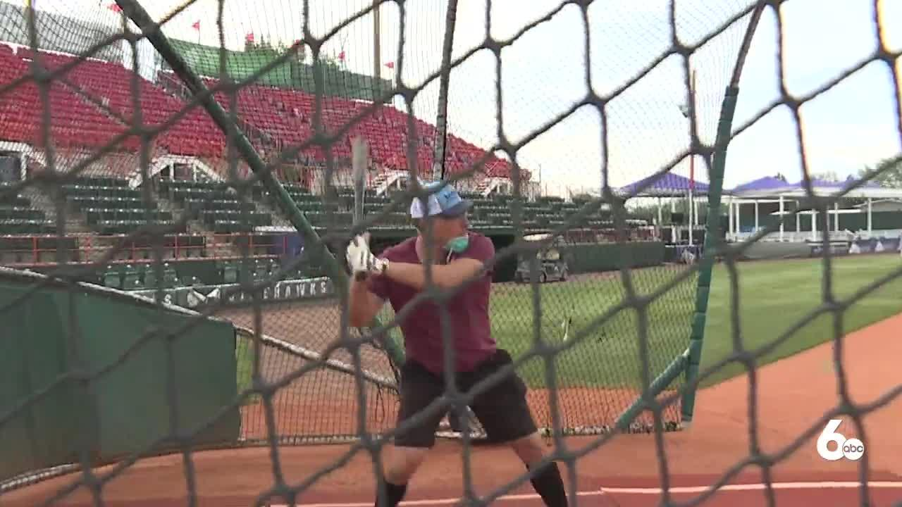 Matt tries out with Boise Hawks