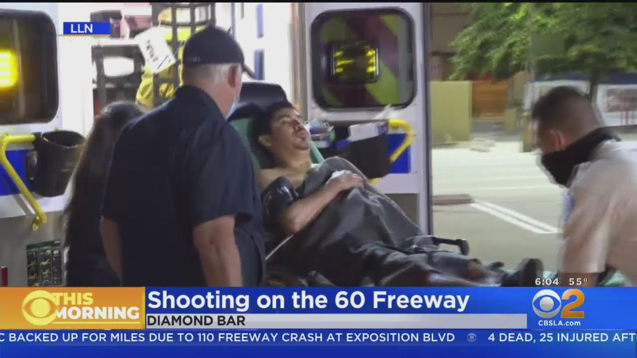 Shots Fired On 60 Freeway Over Possible Street Race Argument In Diamond Bar