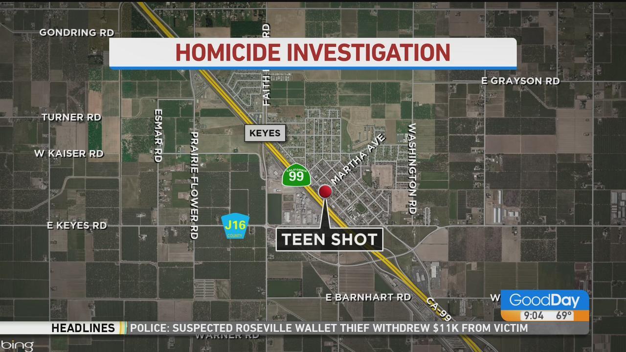 Teen Killed In Shooting Near Keyes