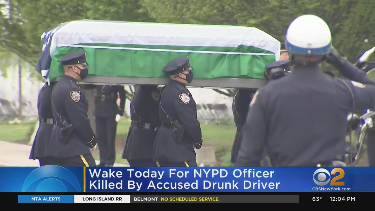 Wake Held For NYPD Officer Killed By Accused Drunk Driver