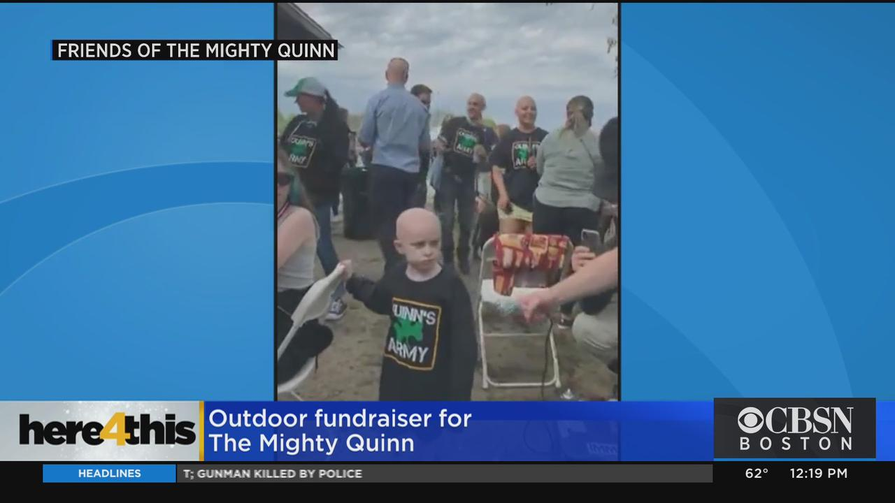 Here 4 This: Outdoor Fundraiser For The Mighty Quinn