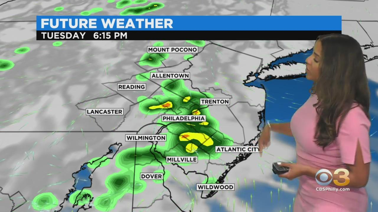Philadelphia Weather: Rounds Of Showers Through Midweek