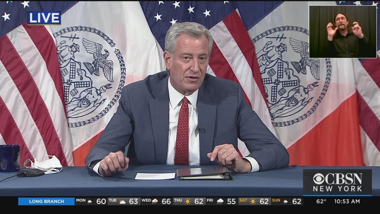 Mayor De Blasio's Daily COVID Briefing