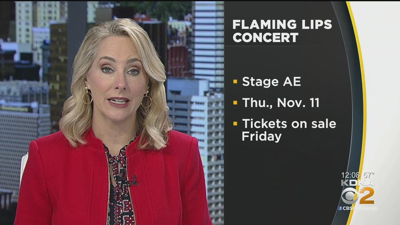 Flaming Lips To Perform At Stage AE