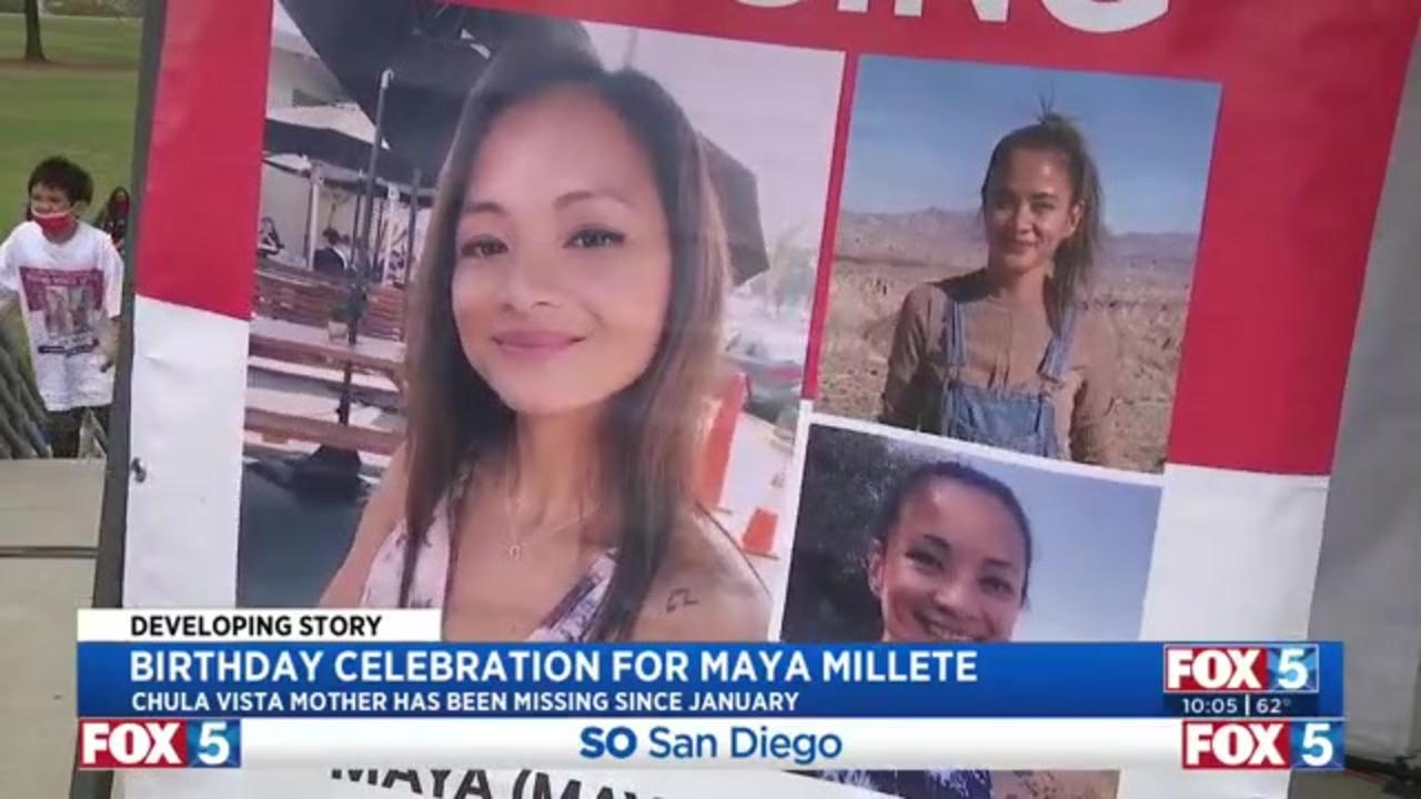 Family, friends celebrate 40th birthday of California woman missing for months