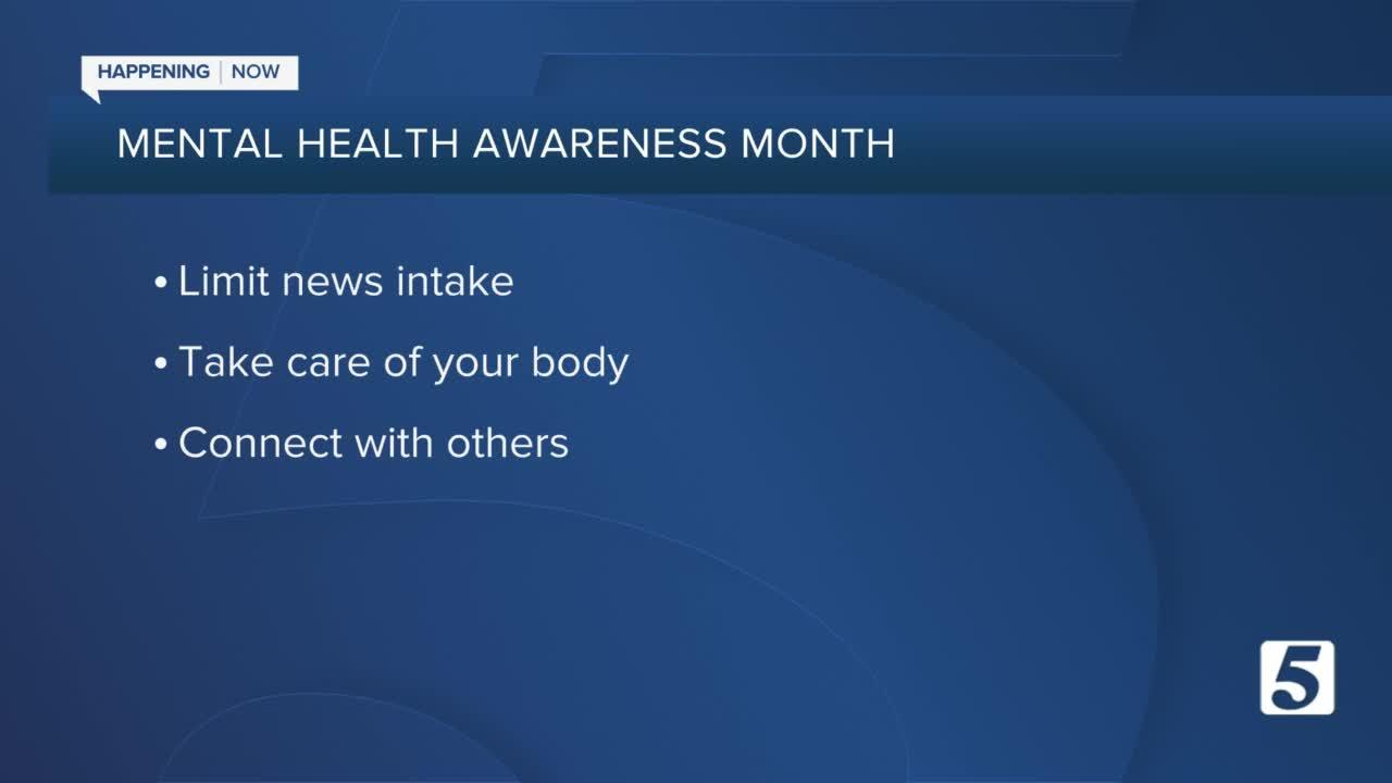 May is Mental Health Awareness Month; resources for coping with stress