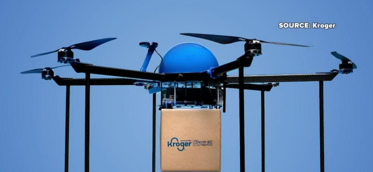 Kroger to launch drone grocery delivery system in midwest
