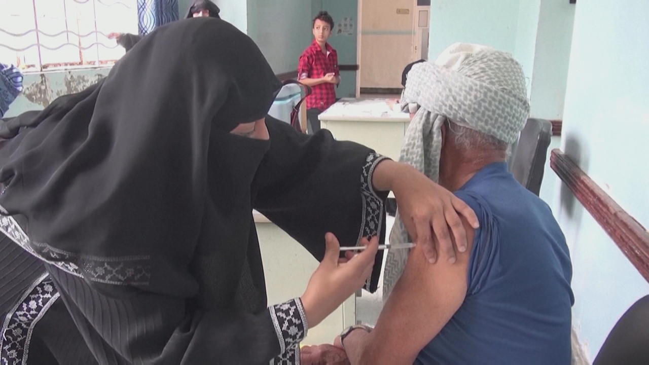 Yemen reports low turnout for COVID vaccinations