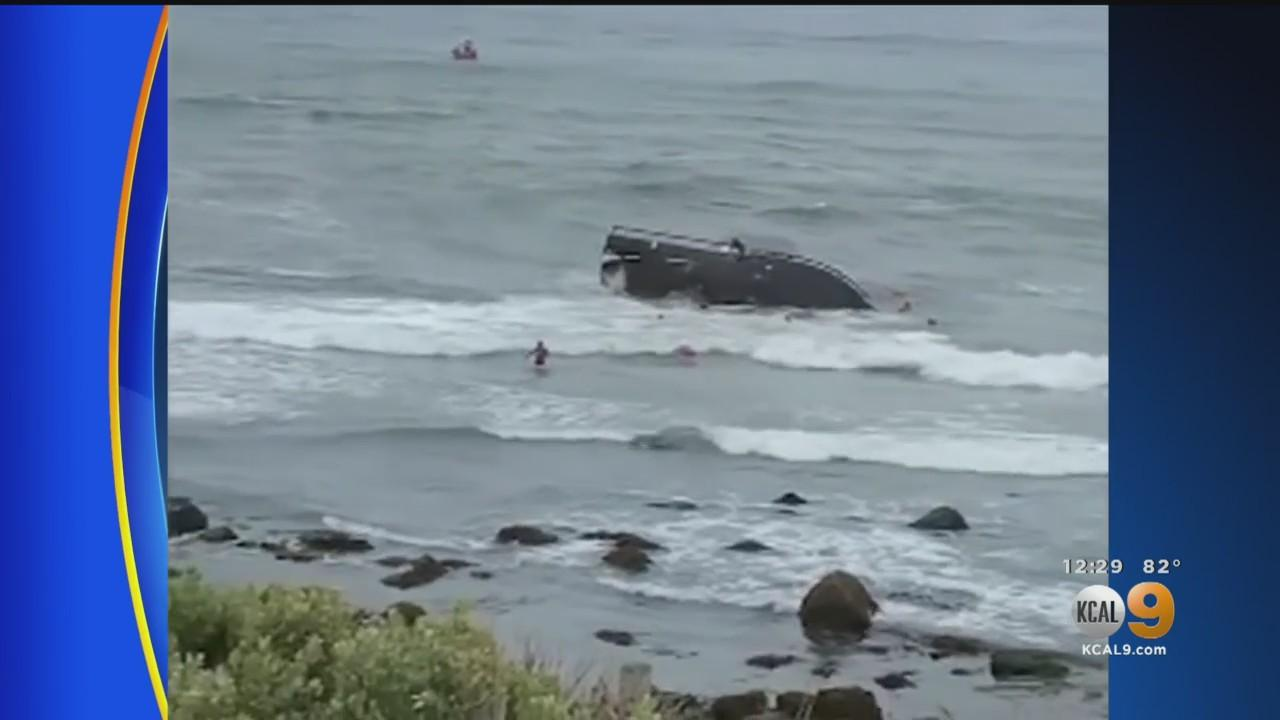 Search Suspended After San Diego Smuggling Boat Wreck Leaves At Least 3 Dead