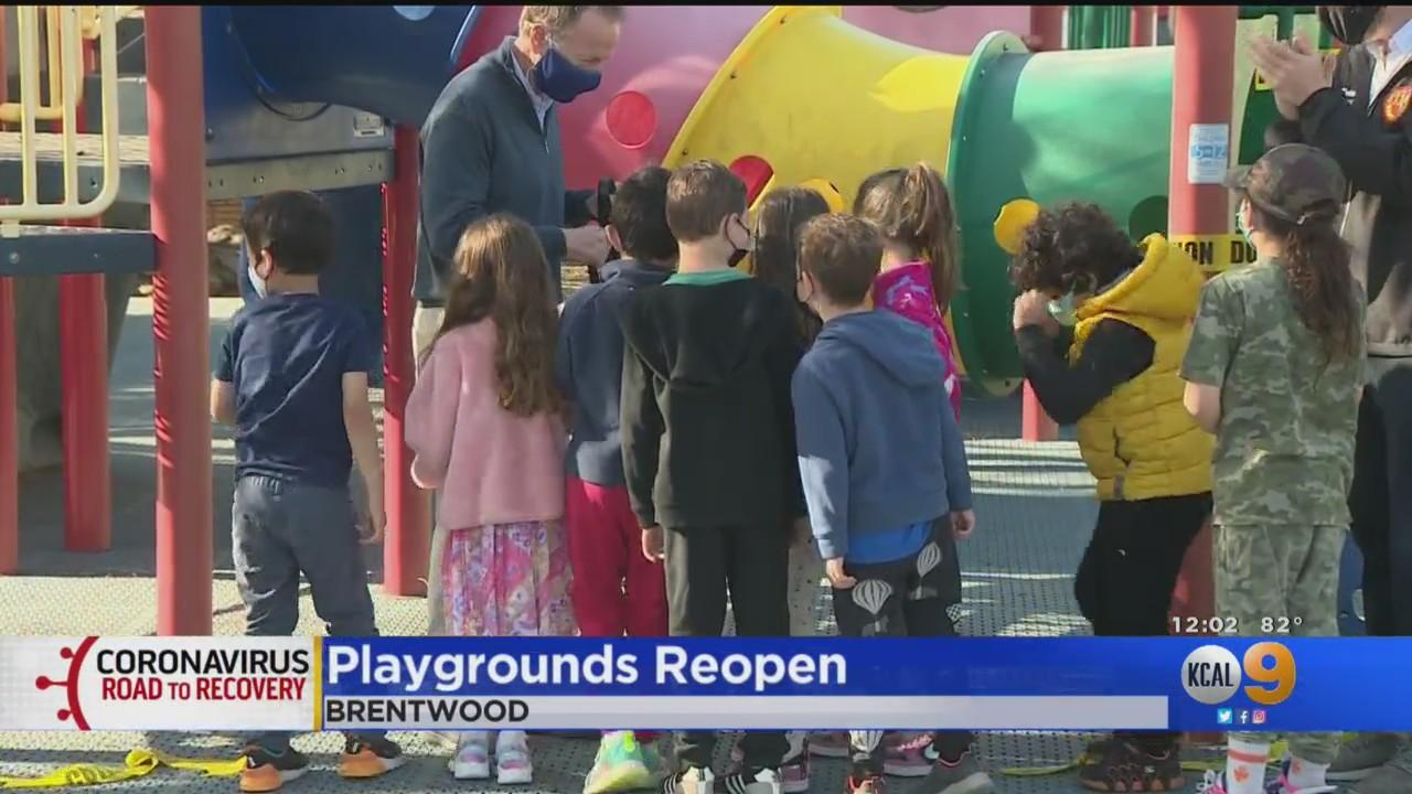 Playgrounds Reopen For LAUSD Students