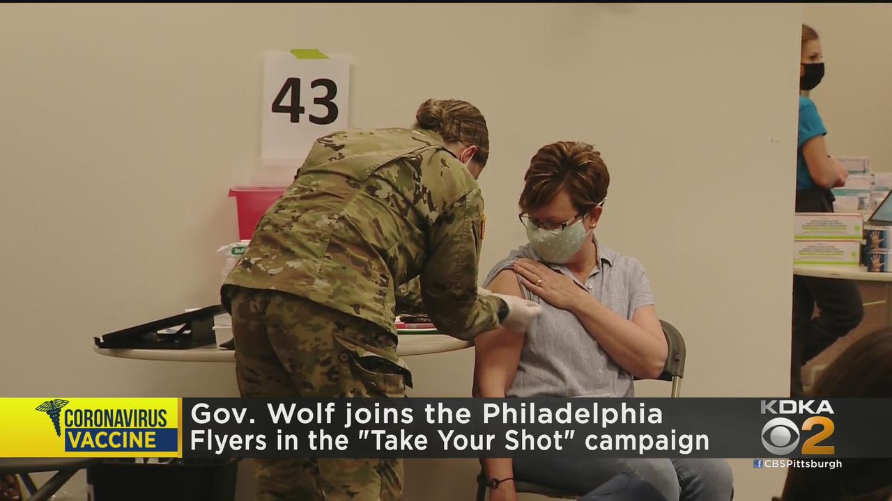 Gov. Tom Wolf Continues Urging Pennsylvanians To Get Vaccinated