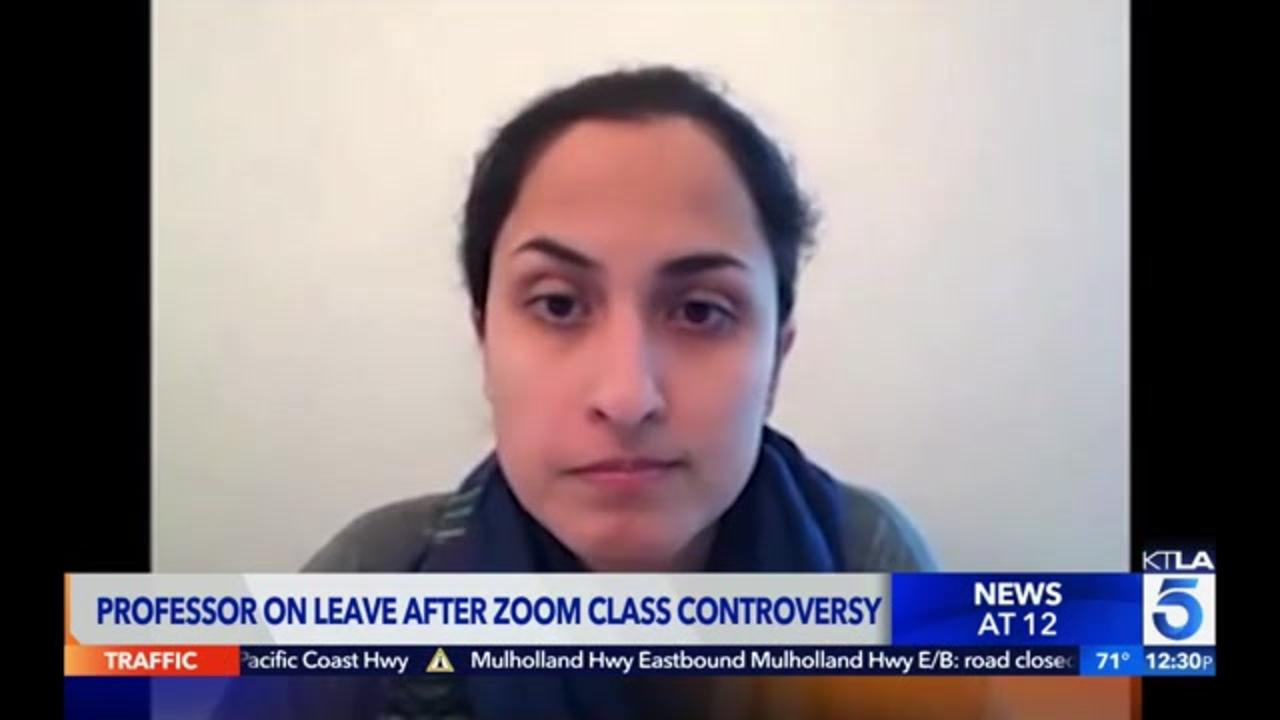 College professor on leave after viral video of heated argument with student over police