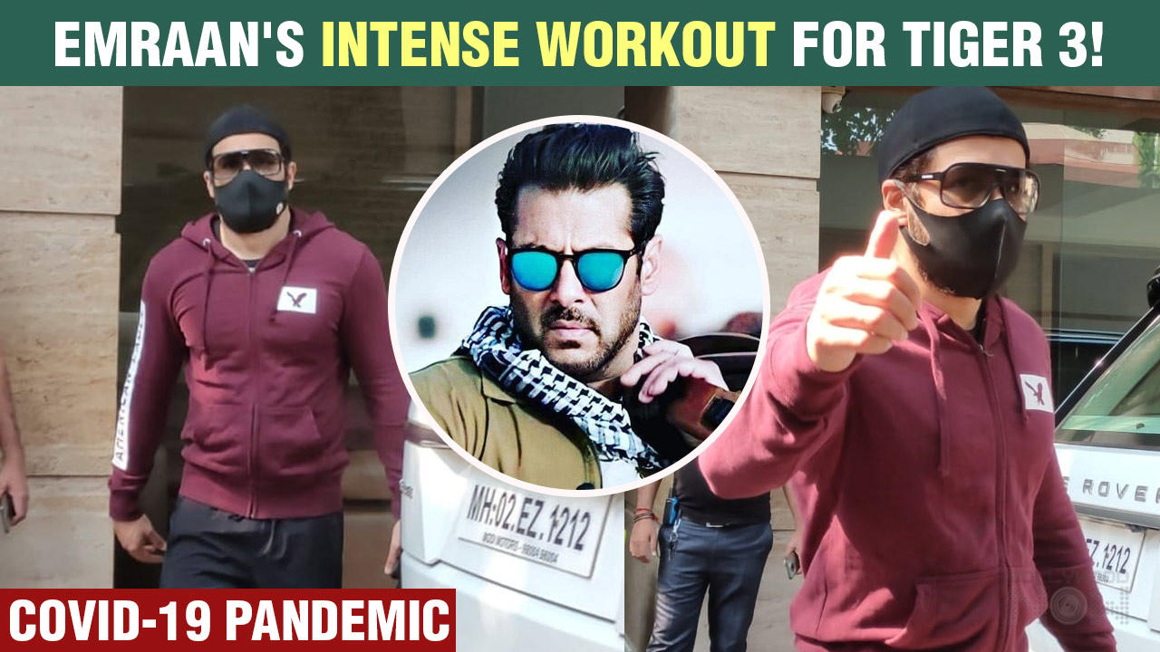 Emraan Hashmi Spotted Outside Gym | Working Out Hard For Salman's Tiger 3 With Katrina Kaif