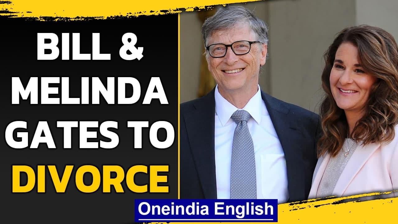 Bill and Melinda Gates to divorce, end 27-year marriage | Oneindia News