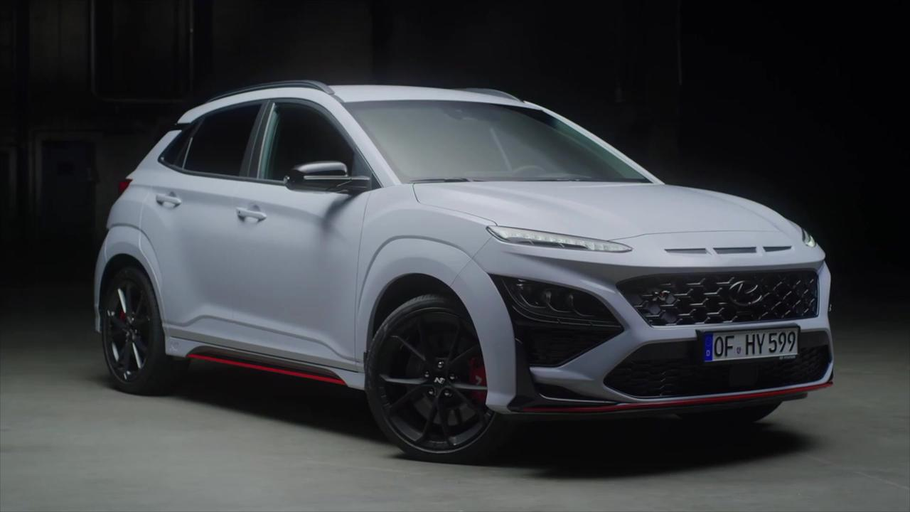 All-new Hyundai KONA N Design Preview