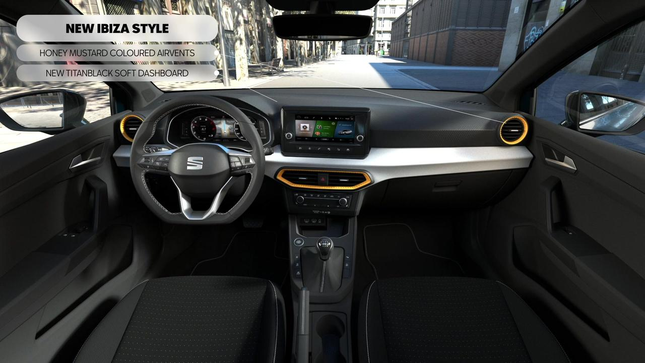 2021 SEAT Ibiza Interior Highlights