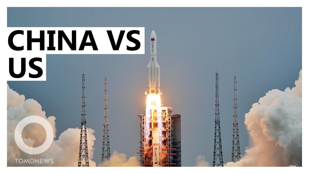 China Heats Up Space Race
