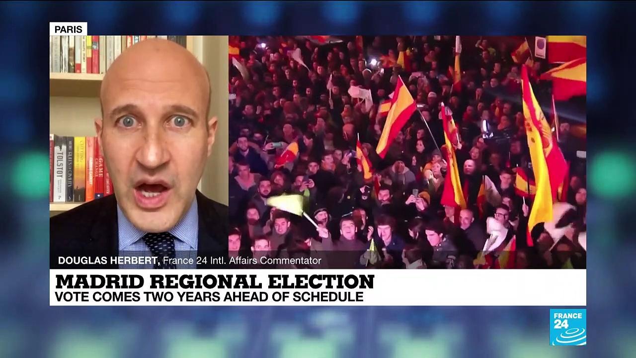Madrid regional election centers on virus response, rise of far right