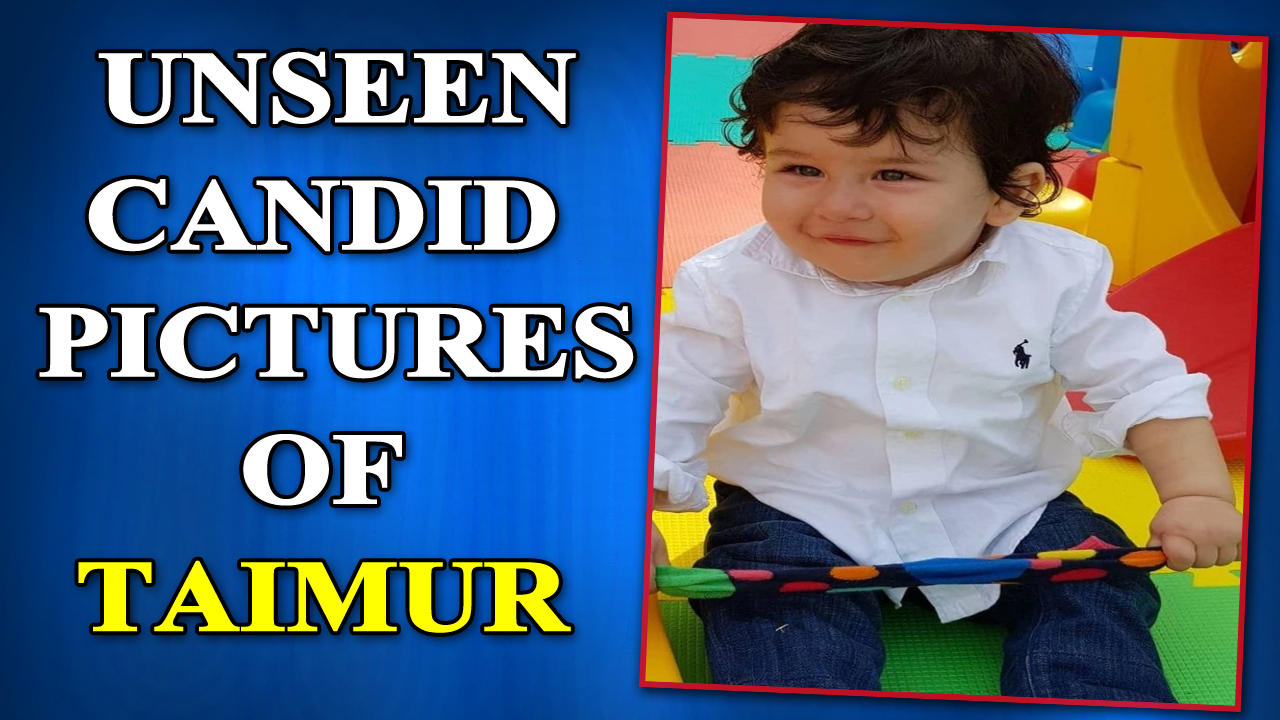 Saba Ali Khan shares unseen photos of Taimur Ali Khan