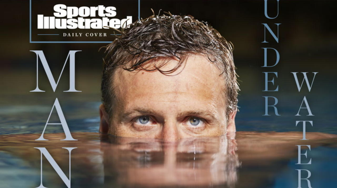 Daily Cover: Man Under Water