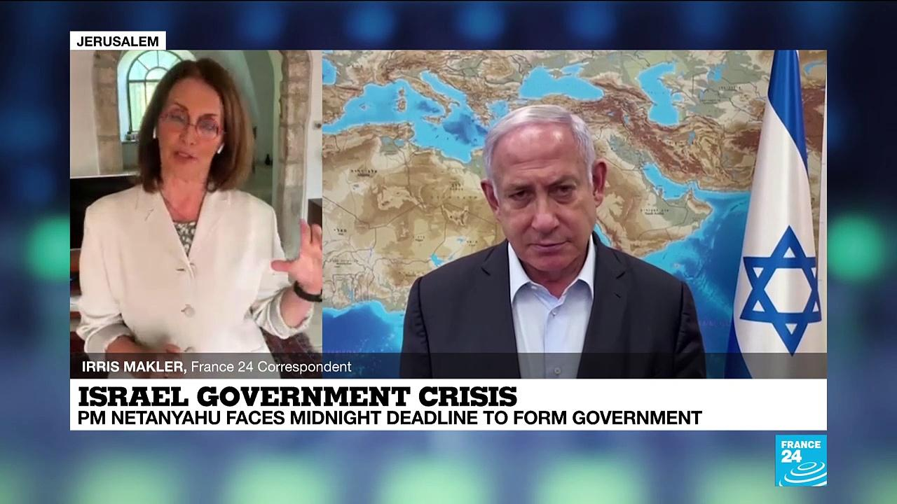 Israel's Netanyahu faces midnight deadline to form government