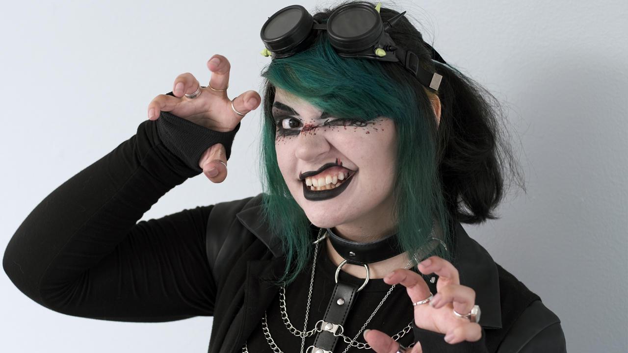 'Vampire' Shocks Mum With Tik Tok Transformation | TRANSFORMED
