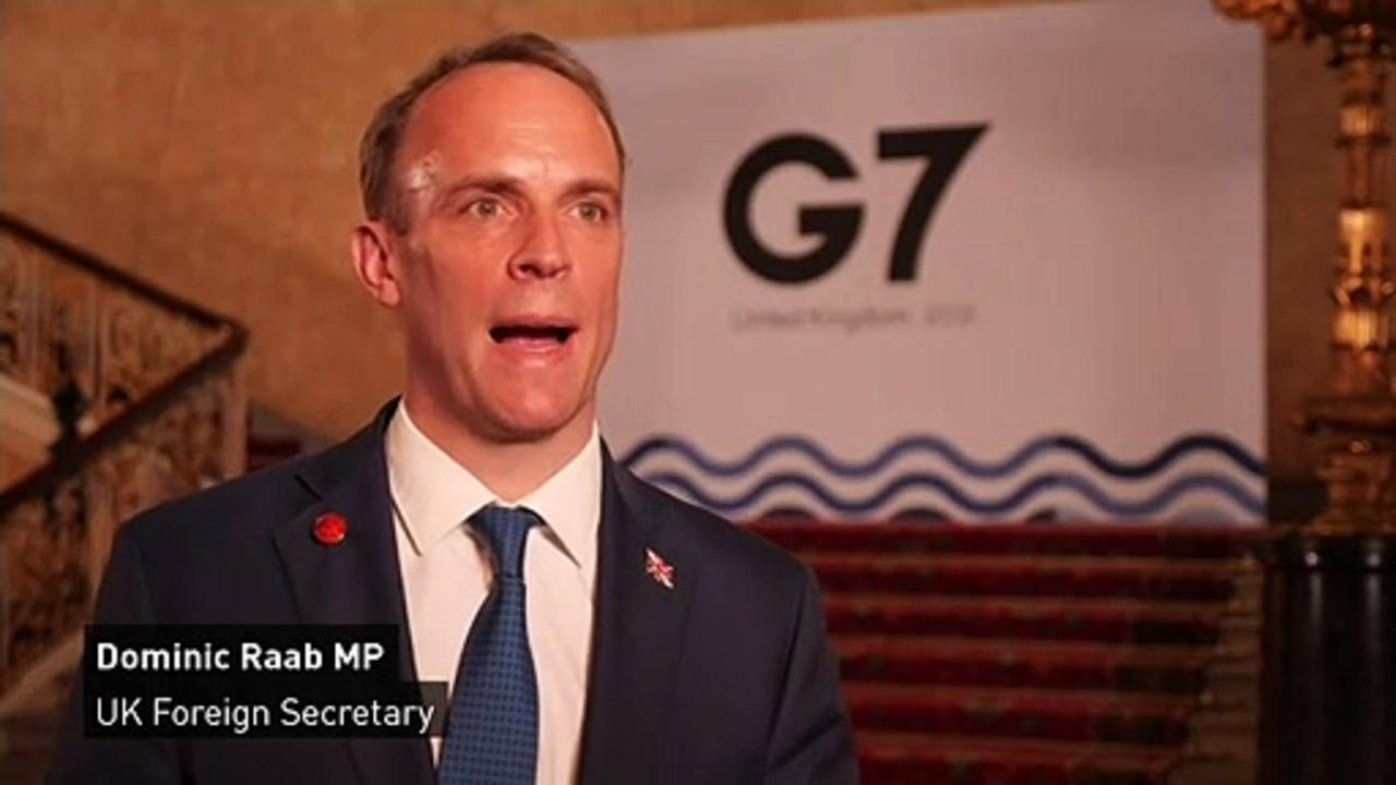 Raab on G7 conference: 'Diplomacy is back'