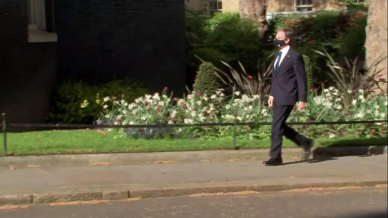 Johnson hosts US Secretary Anthony Blinken