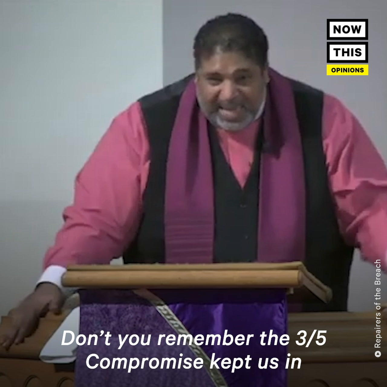 Rev. William Barber II Calls Out Lawmakers For Not Raising Minimum Wage