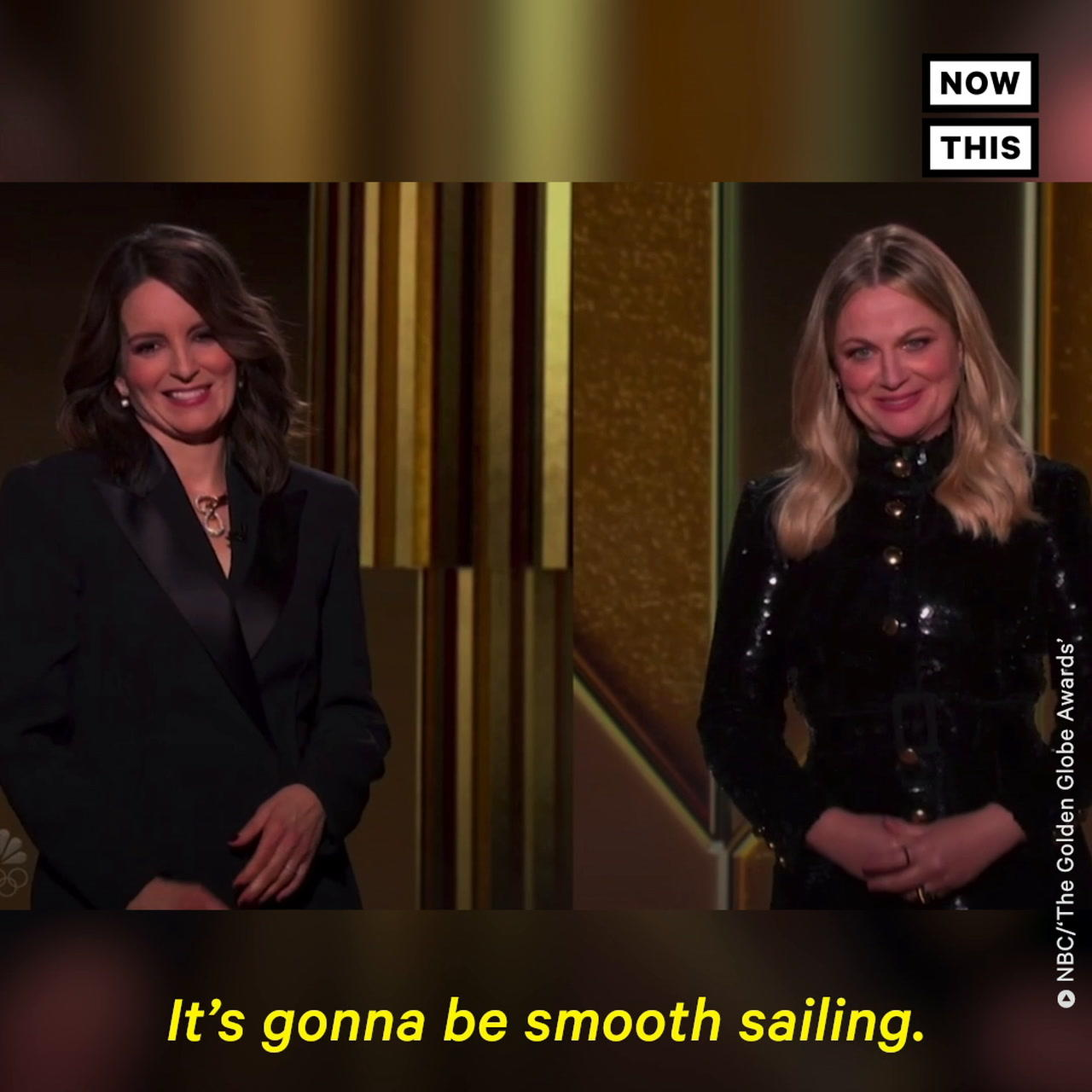Amy Poehler and Tina Fey Kick Off the 78th Golden Globe Awards
