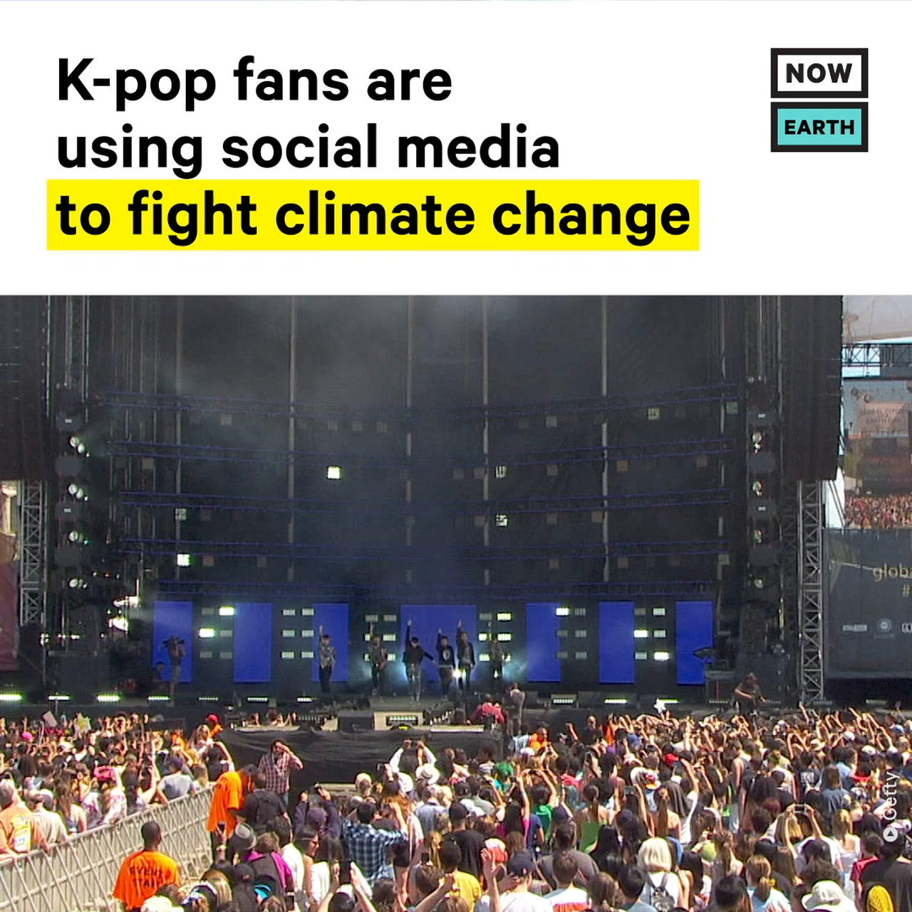 K-pop Fans Use Social Media to Fight Climate Change