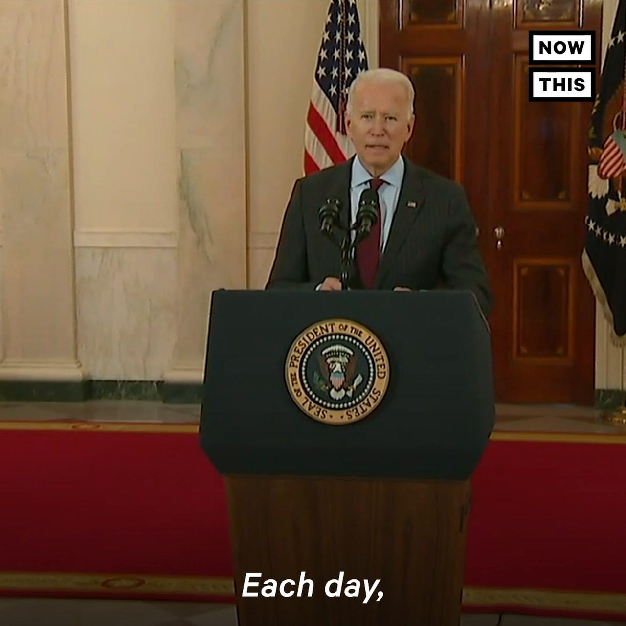 Pres. Biden Consoles the Nation After 500k Deaths