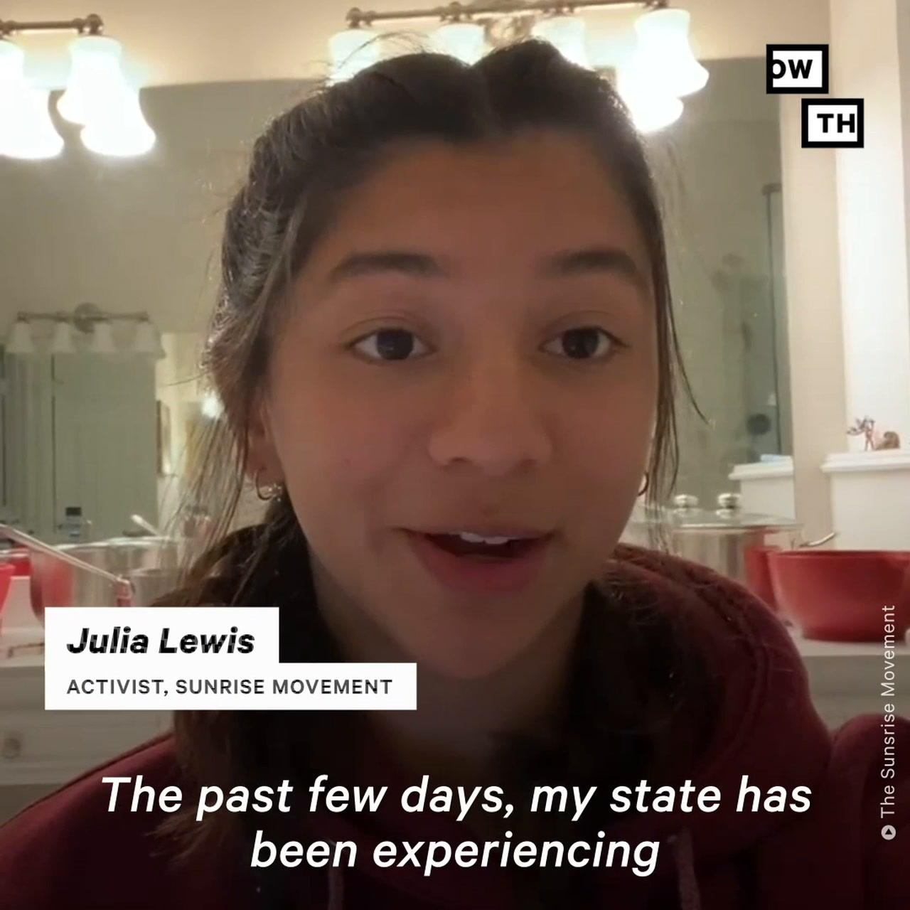 'Absolutely Unacceptable': Young Climate Activists Speak Out About Government Unpreparedness in Texas