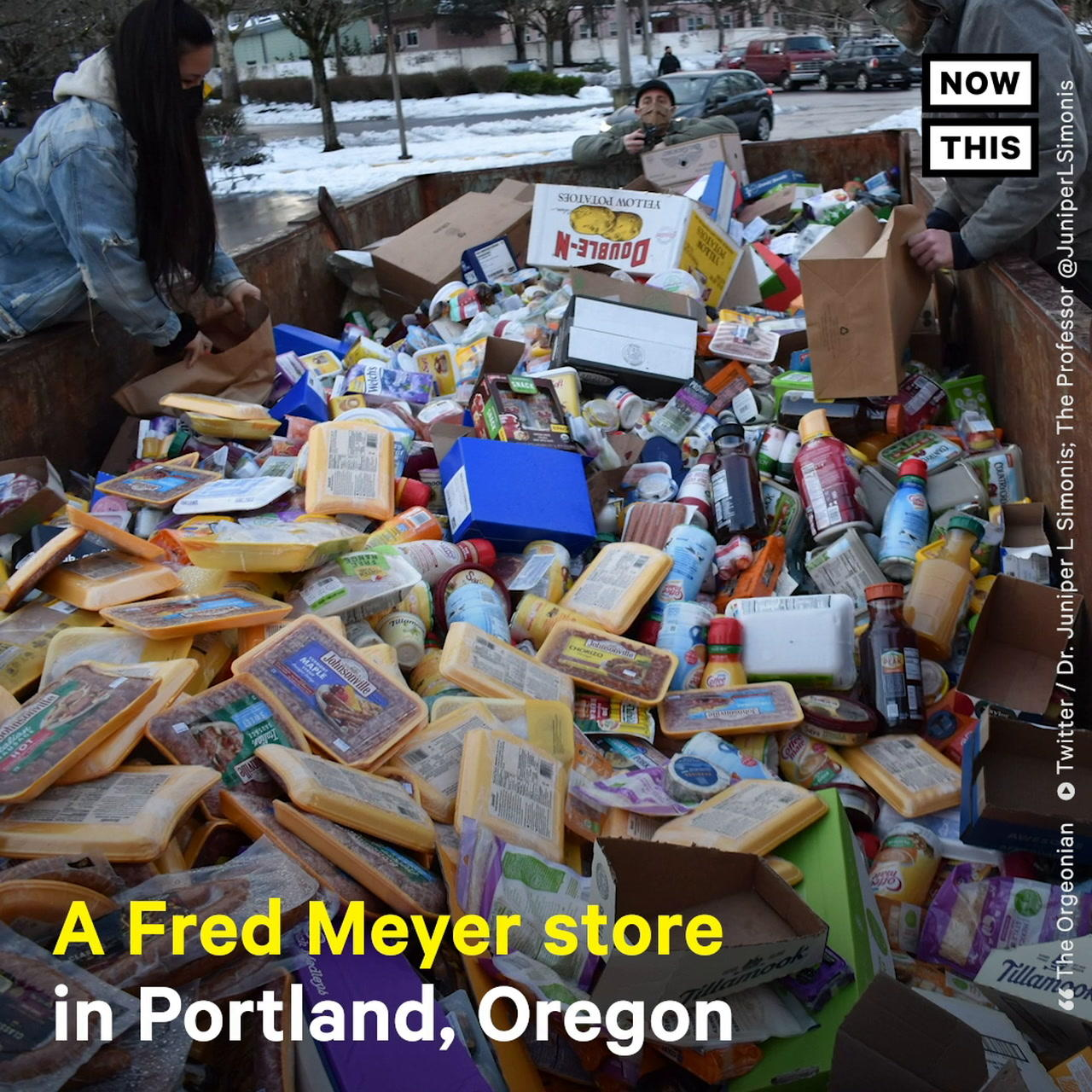 Cops Block People from Salvaging Discarded Food at Portland Grocery Store