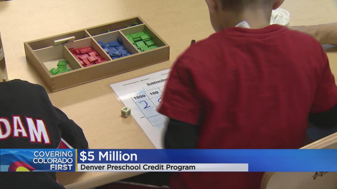 Doors Open For Younger Students In Denver Preschool Program