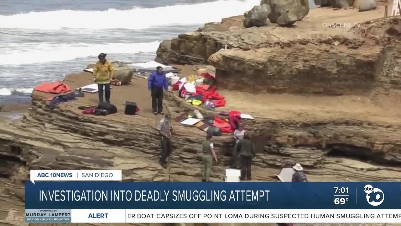 Boat carrying 32 people destroyed off San Diego coast leaving three dead