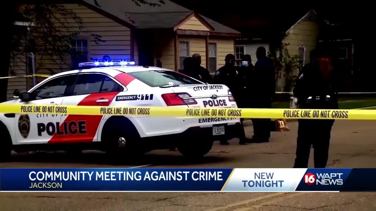 Jackson crime meeting tomorrow