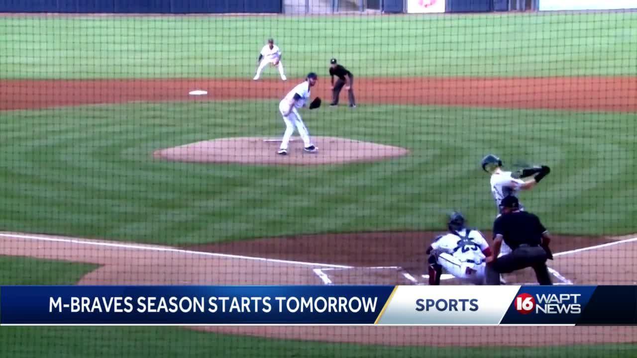 MBraves baseball returns on Tuesday