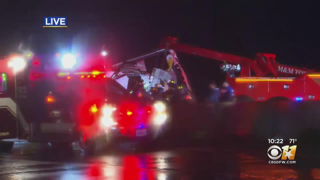Update From Big Rig Crash In Ellis County