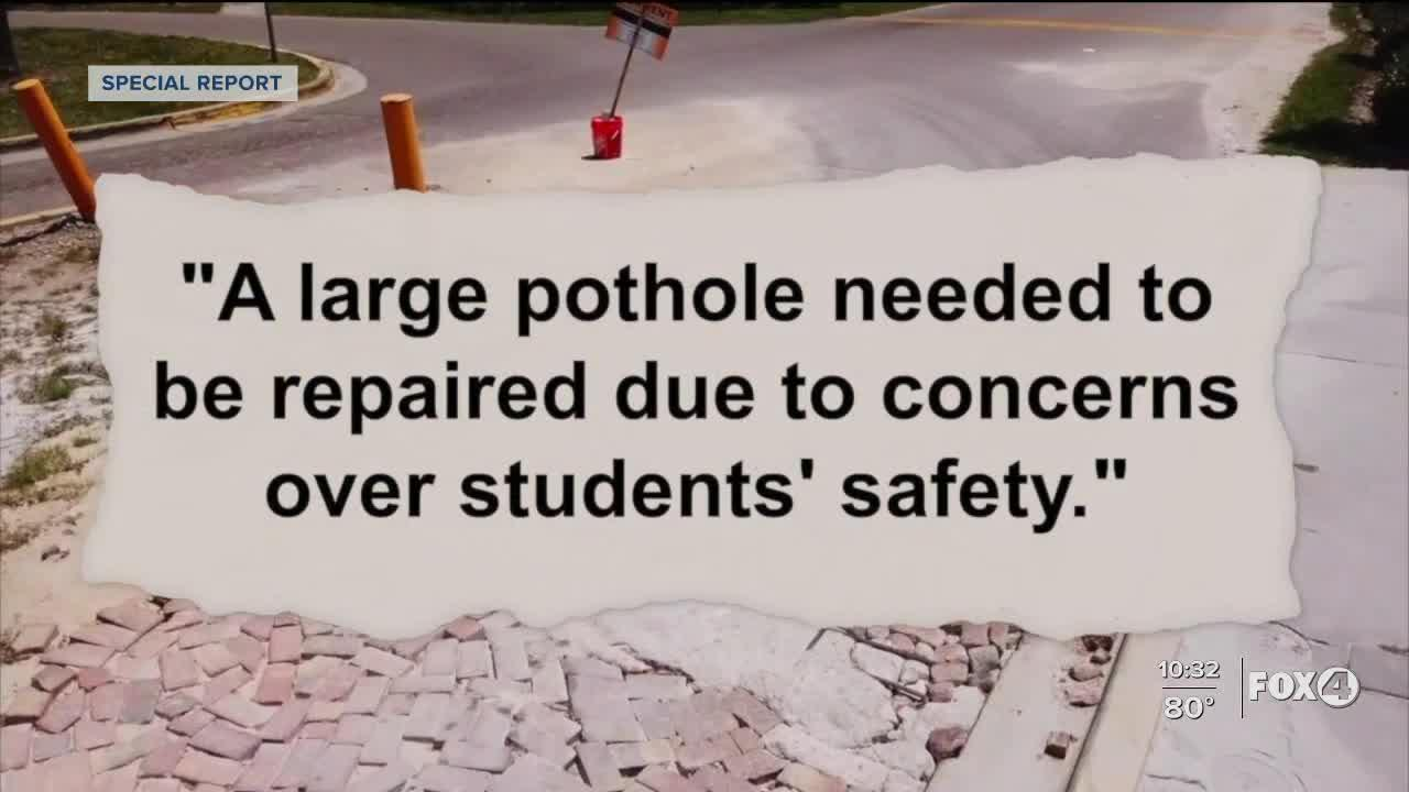 Poor paving at Fort Myers complex leading to busing issues