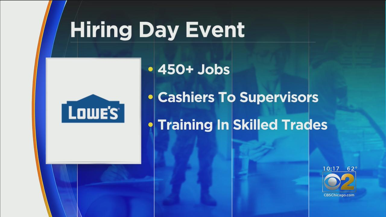 Lowe's To Host Hiring Day Event On Tuesday