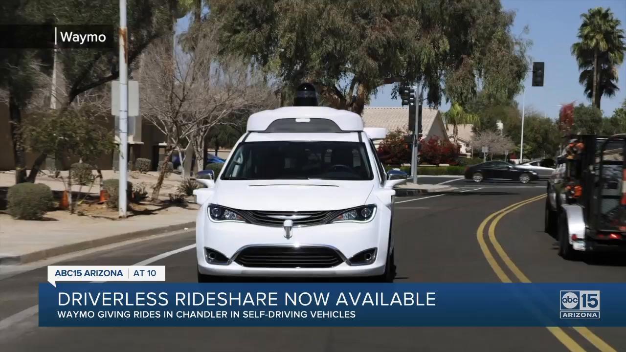 Inside look: Experiencing driverless ride in Valley Waymo vehicle