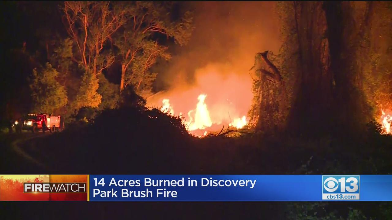 Cause Of 14-Acre Discovery Park Fire Under Investigation
