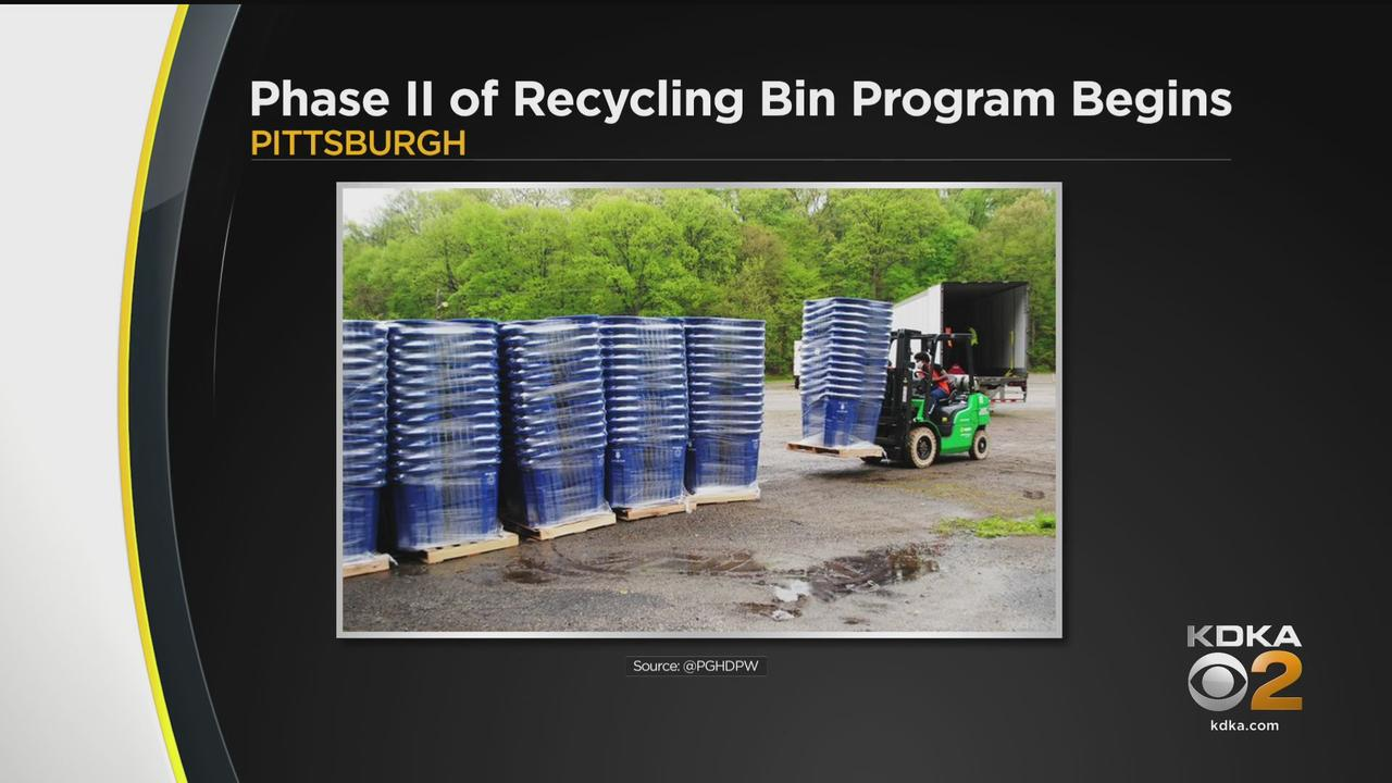 City Of Pittsburgh Begins Phase II Of Recycling Bin Program