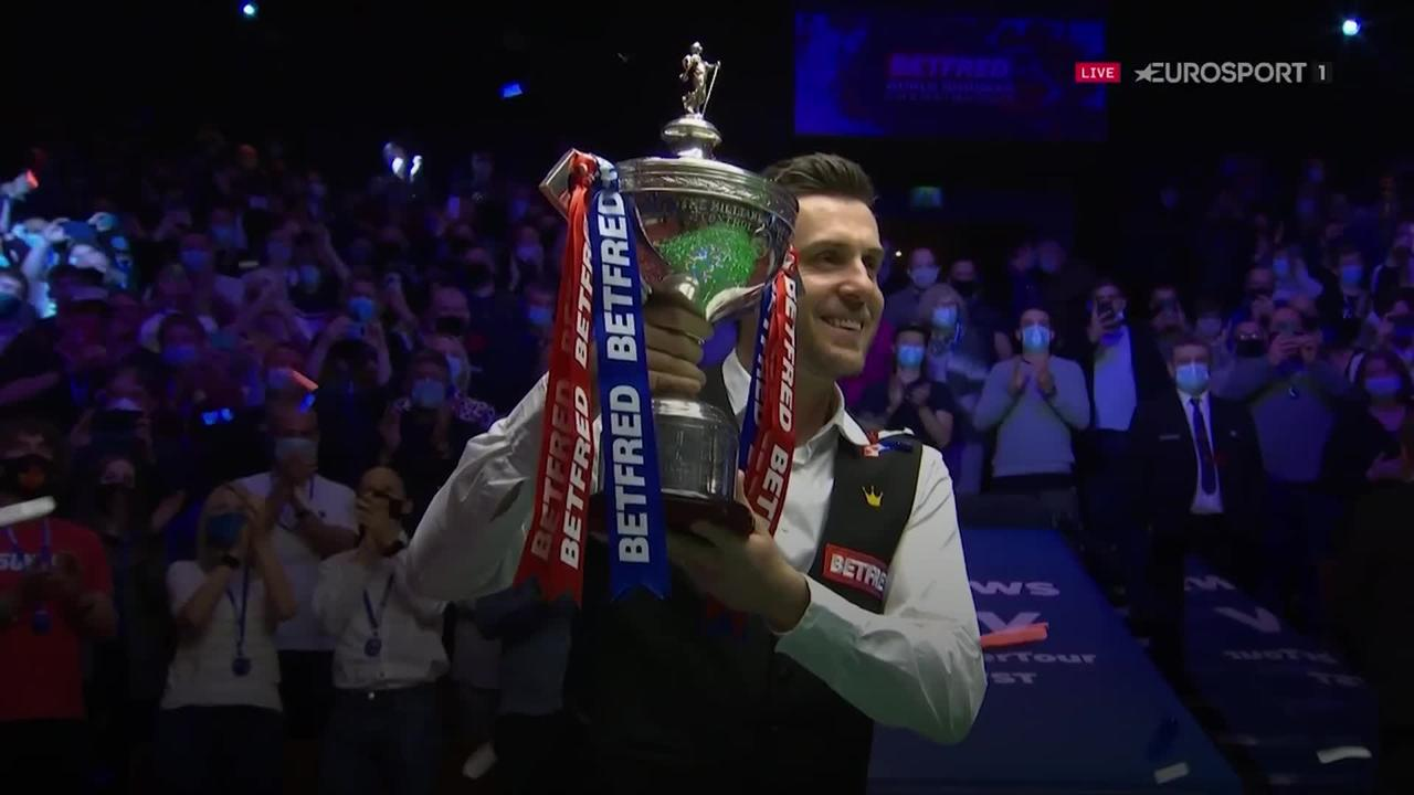 Mark Selby seals fourth world title with win over Shaun Murphy