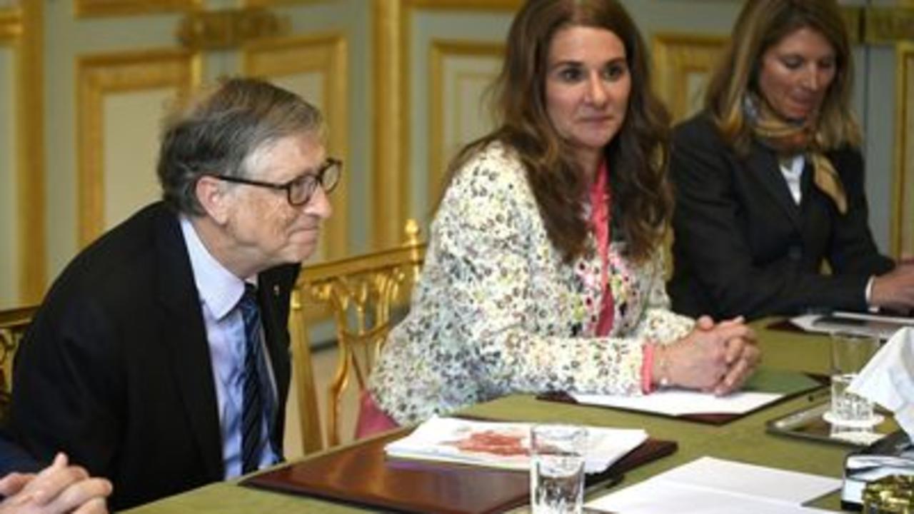 Bill & Melinda Gates to divorce after 27yrs